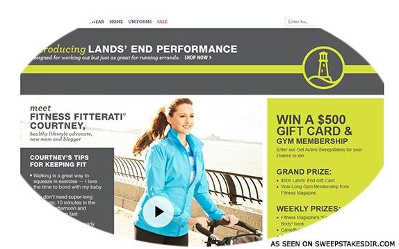 Get Active Sweepstakes