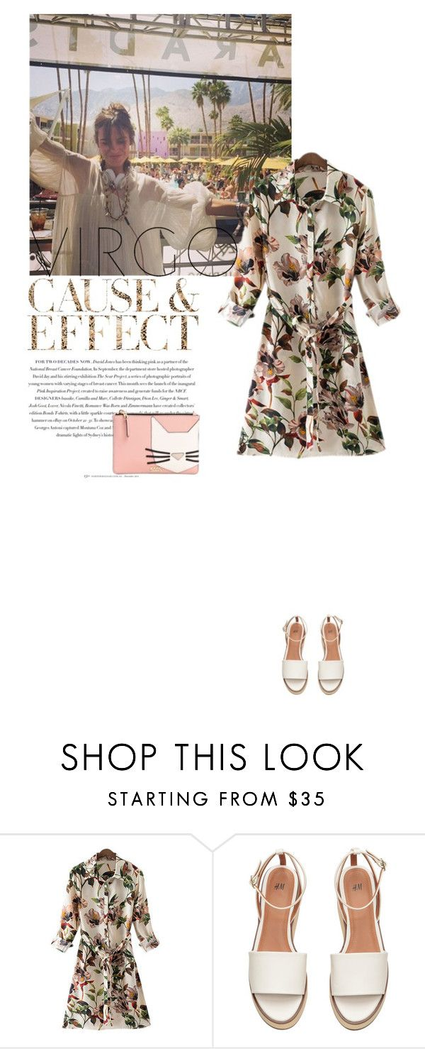 """Summer"" by annasalenkova on Polyvore featuring Envi, Karl Lagerfeld, fashionhoroscope and stylehoroscope"