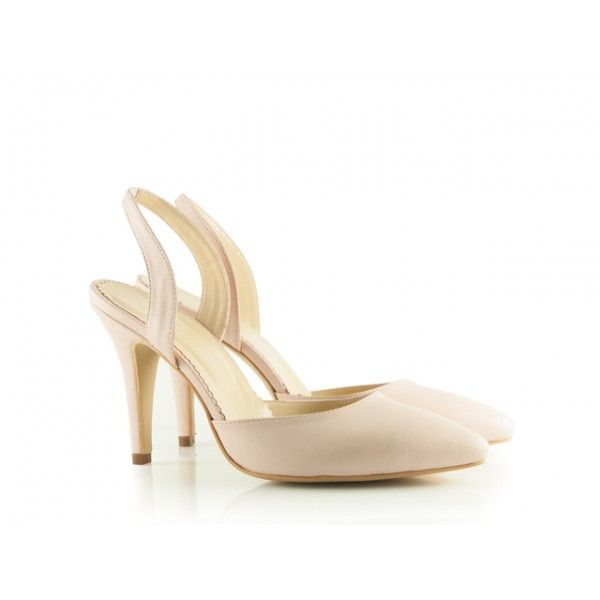 Sandale dama albe cu toc Randie - Pantofi Ravel