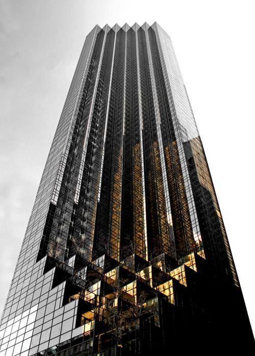 Triangle Triangle - Trump Building in New York City.