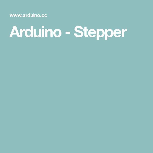 Arduino - Stepper