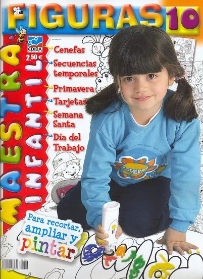 Figuras Maestra de Infantil 10