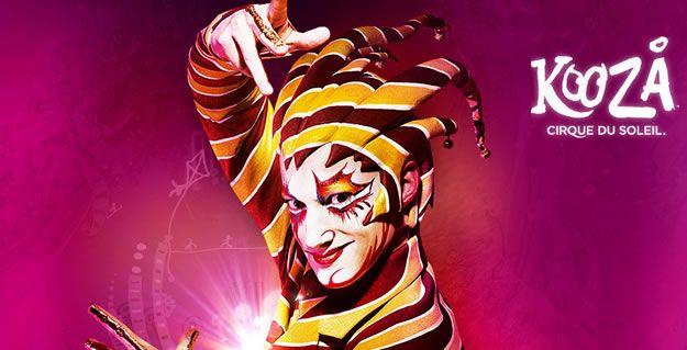 """Le cirque du Soleil à Paris et en """"mode VIP"""""""