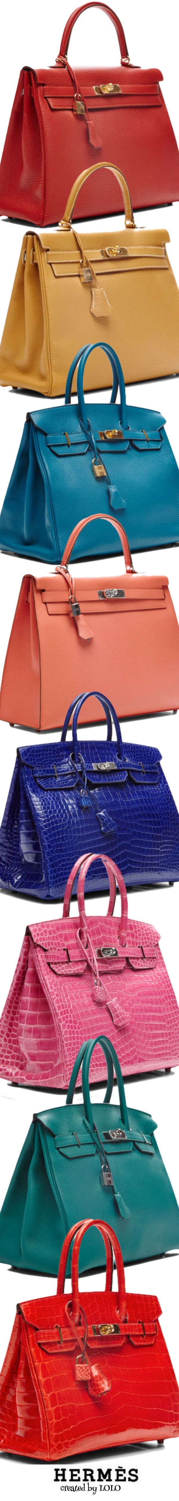 Vintage Hermès via Moda Operandi....one in every color of course | LOLO