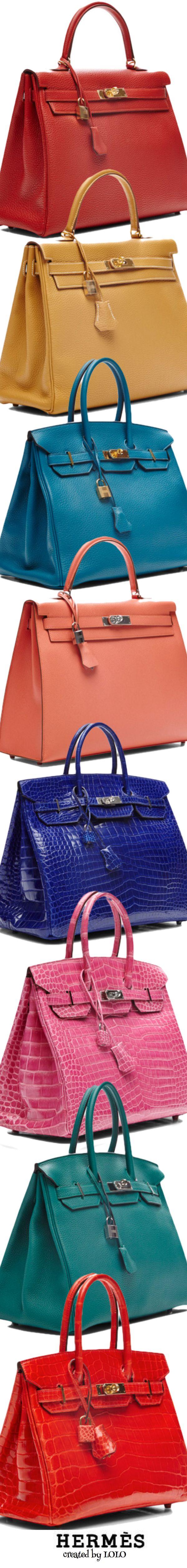 Vintage Hermès via Moda Operandi....one in every color of course | LOLO