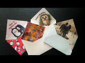 Как сделать подарочный конверт своими руками. Идея к любому празднику. | Страна Мастеров
