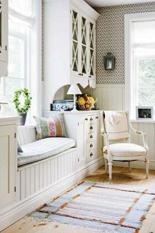 Cozy Window Seat Option For Dining Room Window Seats