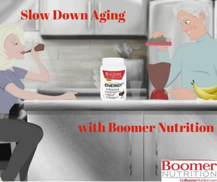 Slow Down Aging with Boomer Nutrition Protein Powder