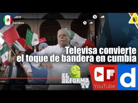 26 Televisa convierte el toque de bandera en cumbia