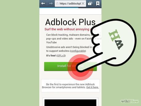 Get the Android Browser to Block Popups - Step 5
