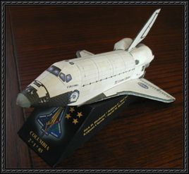atlantis space shuttle papercraft - photo #19