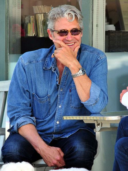 Michael Nouri Pictures - Michael Nouri Out With A Friend And His Dog In Los Angeles - Zimbio