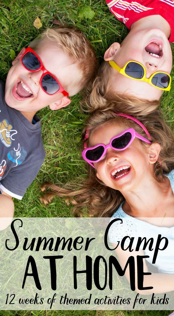 Water and ice activities summer camp at home with 12 weeks of easy - Summer Camp At Home
