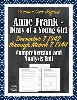 a literary analysis of anne franks diary A critical point about anne frank's diary is that it was written during the years of her adolescence she struggled with many typical teenage uses them to define who she is and who she wants to be anne's quest for her identity is and the coming-of-age theme are the most significant themes of the book.