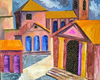 Ravenna landscape painting