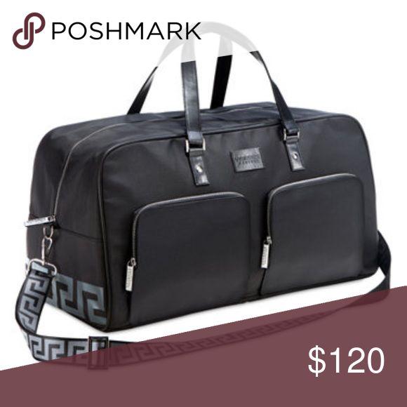 Versace Perfumes black travel or gym bag Versace Perfumes bag Versace Bags Luggage & Travel Bags