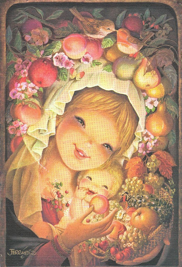 """Orchard Mother and Child"" by Juan Ferrandiz 