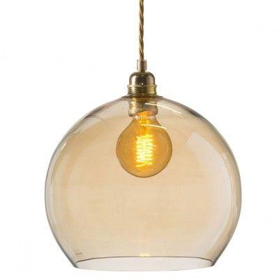 Taklampa i glas Bright Coral, Ebb & Flow   SPITI - Skön inredning - Marockansk orientalisk indisk fransk provence