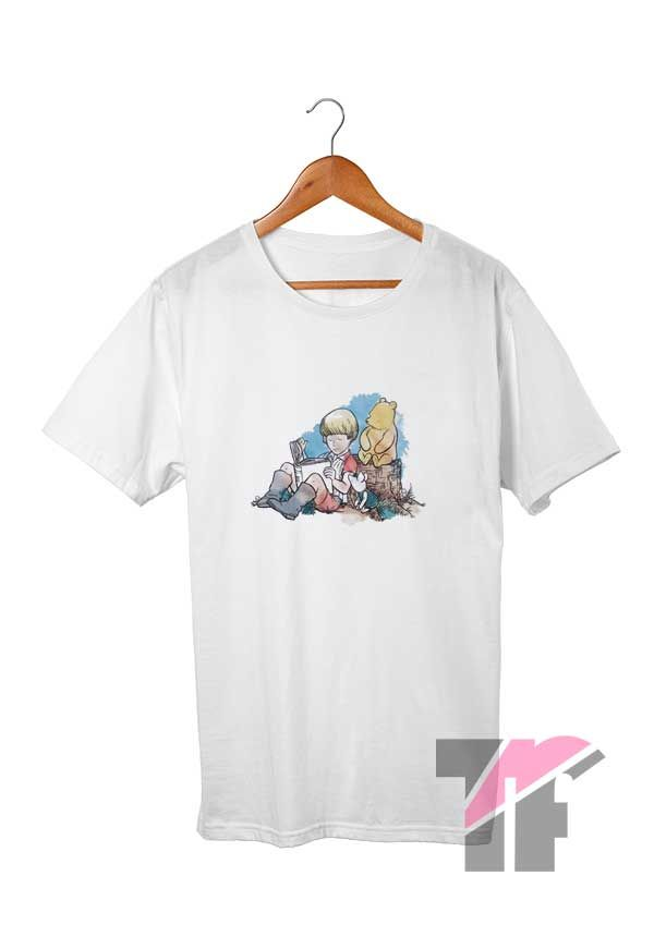 Winnie The Pooh Watercolor T Shirt Graphic Tee Shirts Shirts T