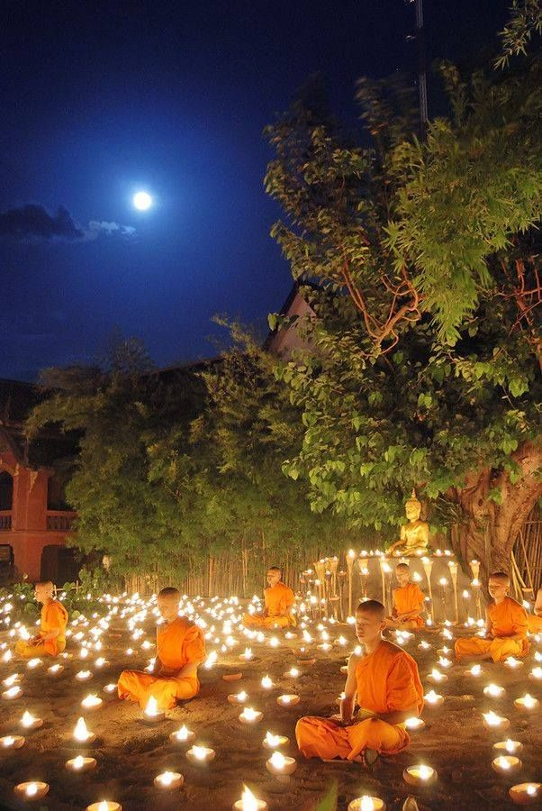 Meditação na lua cheia.  #now #nowmaste #namaste
