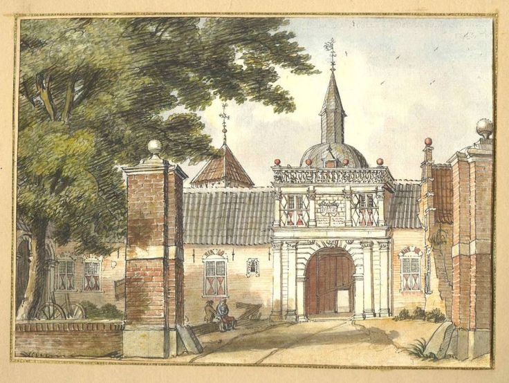 Jan de Beijer (1703-1780) - Kasteel Borculo in Borculo, 1743