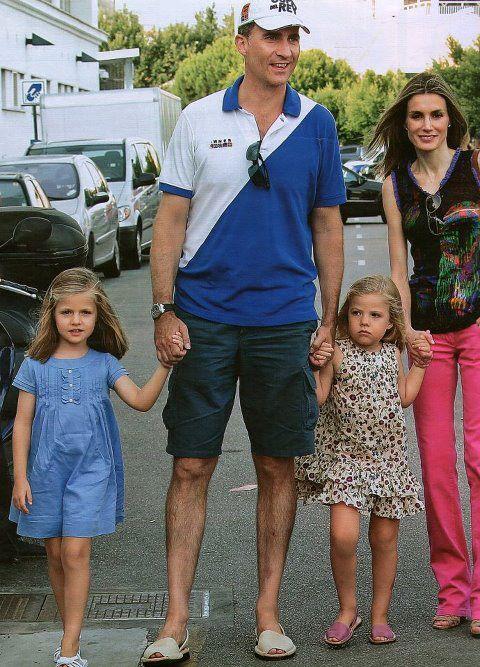 Familia Real con sus Ria Menorca