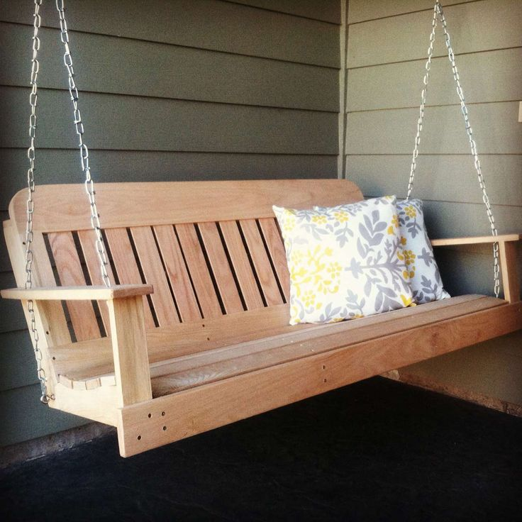Awesome Modern Porch Swings Design ~ http://www.lookmyhomes.com/modern-porch-swings-ideas/