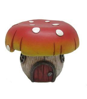 Mushroom House Fairies Garden And Resins On Pinterest