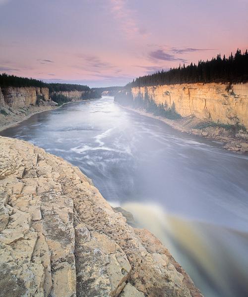 Alexandra Falls, Hay River, Northwest Territories, Canada