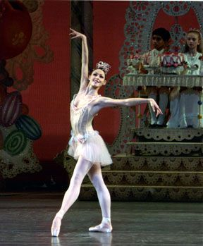 Sofiane Sylve as Dewdrop, New York City Ballet's Nutcracker.   Photo (c) Paul Kolnik.