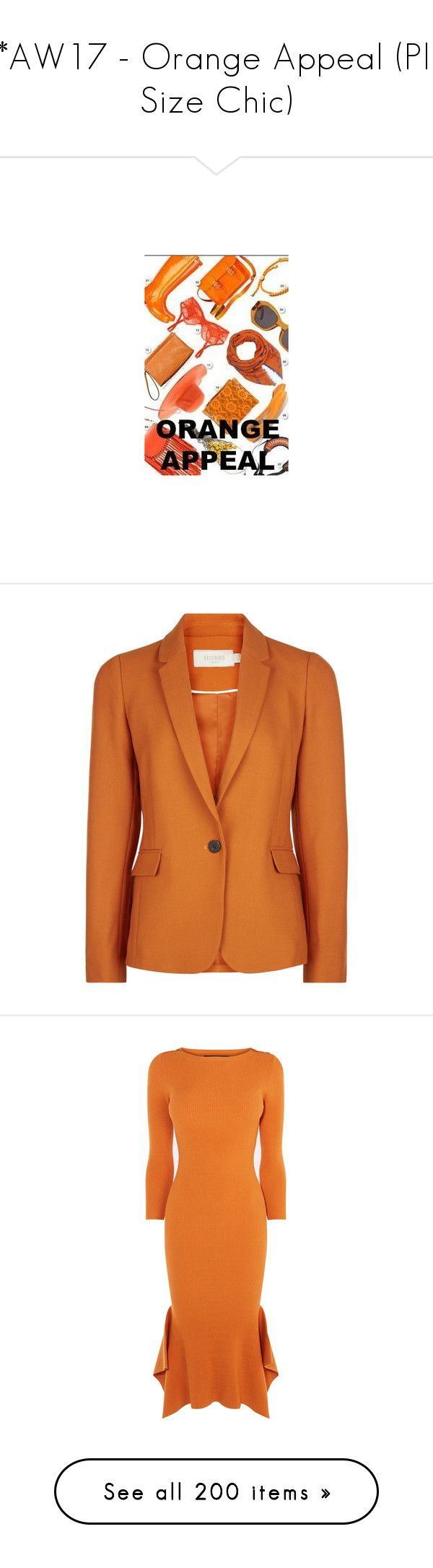 """""""***AW17 - Orange Appeal (Plus Size Chic)"""" by foolsuk ❤ liked on Polyvore featuring outerwear, jackets, print jacket, tailored jacket, long sleeve jacket, lightweight jacket, orange jacket, dresses, floor length dresses and print maxi dress"""