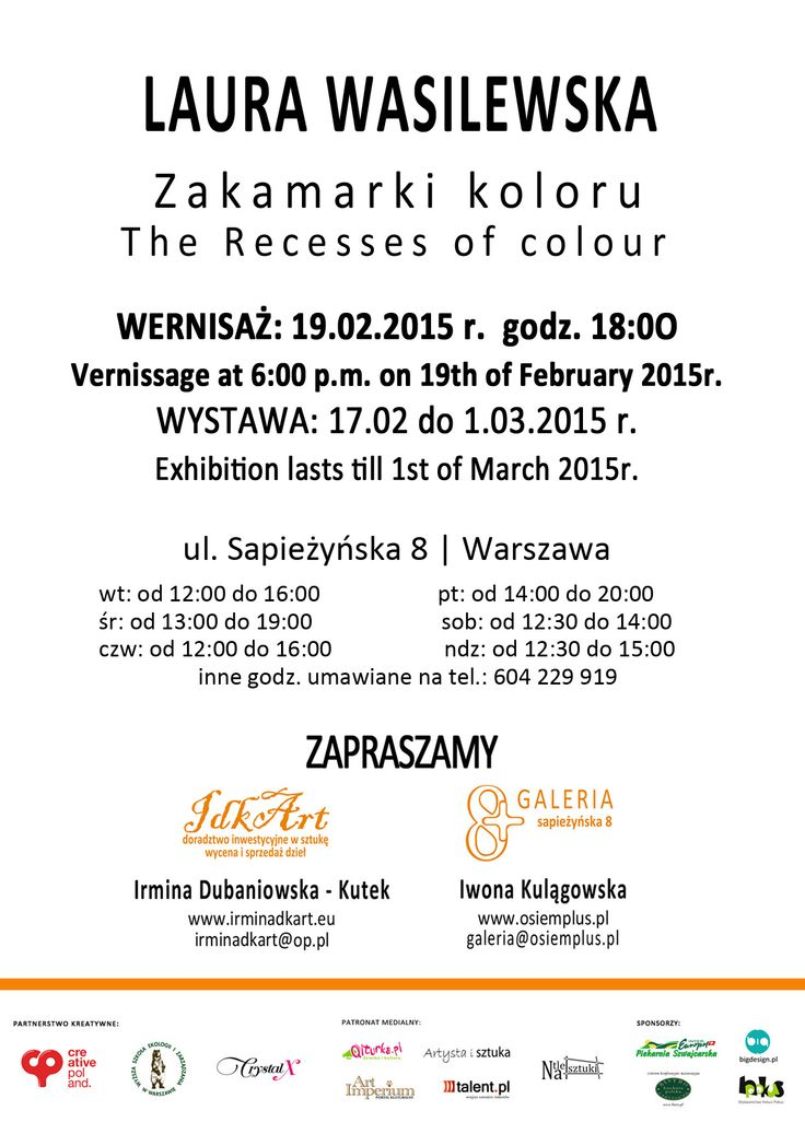 Zakamarki koloru - LAURA WASILEWSKA - Galeria 8 Plus & Idkart http://artimperium.pl/wiadomosci/pokaz/496,zakamarki-koloru-laura-wasilewska-galeria-8-plus-idkart#.VOXNa_mG-Sp