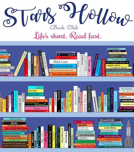 Stars Hollow Book Club liste de lecture avec par NorthernLiberties