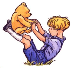 *CLASSIC ~ POOH & CHRISTOPHER ROBIN