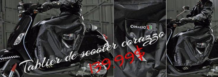 #Tablier scooter  #Jupette a vespa