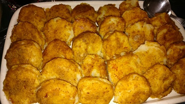 Potato croquettes....absolutely yum!!