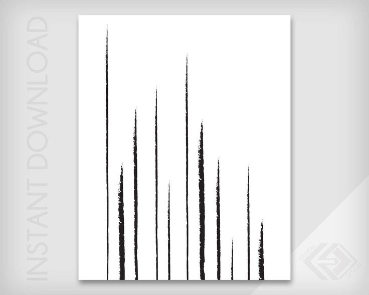 Vertical Lines - Abstract Wall Art - JPG & PDF Instant Download - Modern Minimalist Digital Print by EastonDesign on Etsy