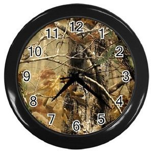 camo+decor | ... -Brown-Realtree-Camo-Wall-Clock-Bedding-Home-Decor-Gift-Free-Shipping