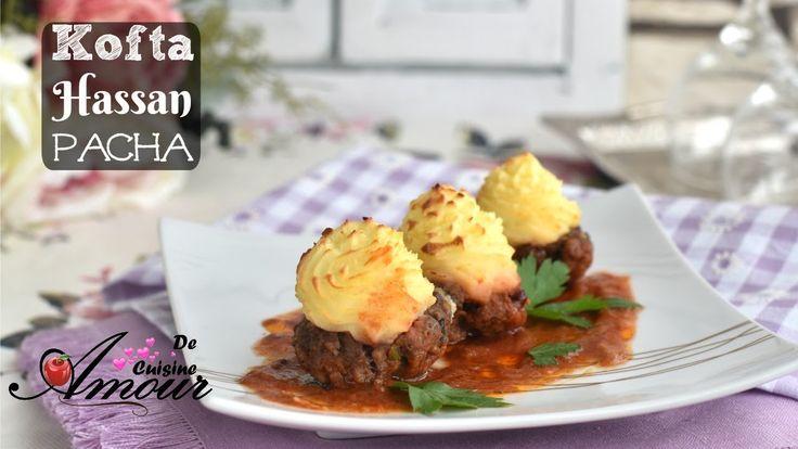 kofta hassan pacha, recette trés facile, simple et idéale pour ramadan 2017