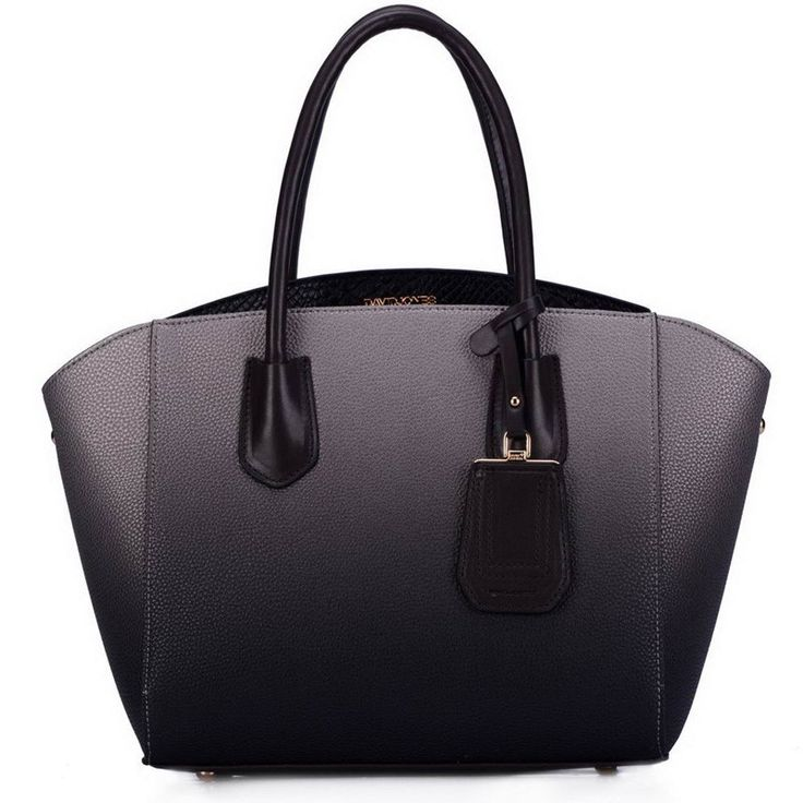 David Jones Ladies Structured Handbag (CM2737 - Black)