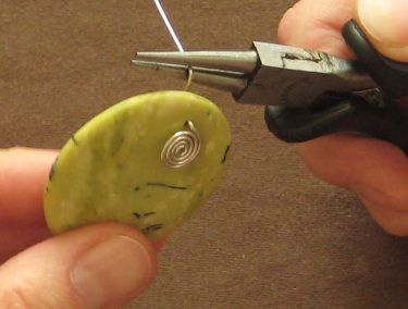 Make your own pendant bail #wire #jewelry #tutorial