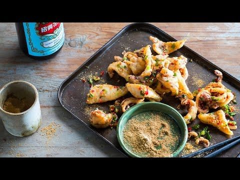 Salt and pepper squid - Chinese Seafood recipes - YouTube