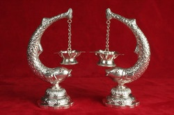 Silver Pooja Lamps