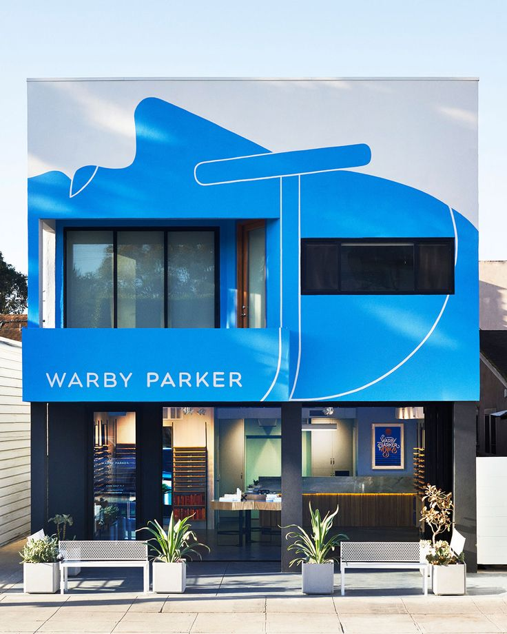 Warby Parker Mural on Behance