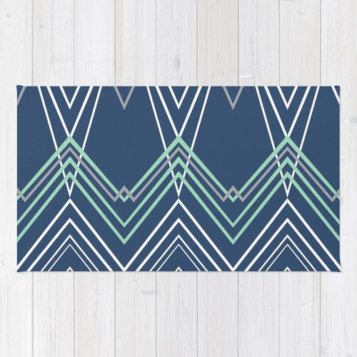Green Navy Rug: Products, Mint Green And Chevy
