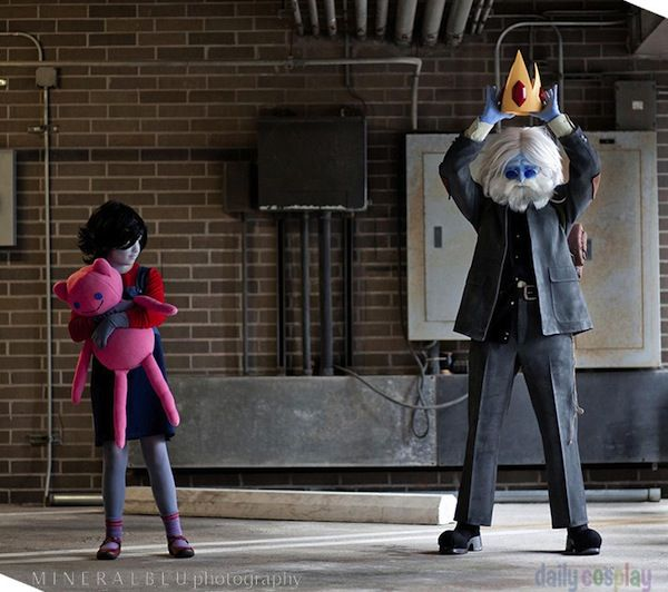 Marceline And The Ice King Cosplay From Adventure Time