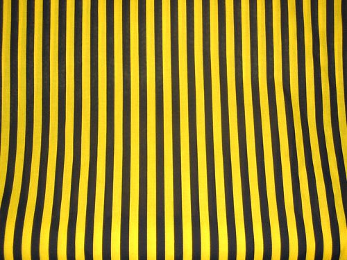 Black Bumble Bee >> BLACK & YELLOW (Bumble Bee) STRIPE - PRINTED POLYCOTTON FABRIC   BIE   Pinterest   Stripes ...