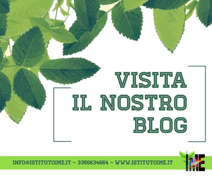 il Blog della community IME!! Rimani aggiornato sulle ultime novità della medicina olistica e rimedi naturali!  http://istitutoime.it/blog.html  #istitutoime #blog #news