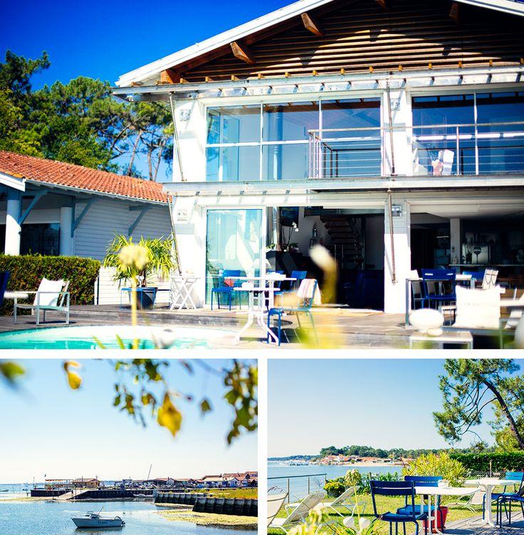 La Villa Etche Ona en Octobre #vacances #vraiesvacances #insolite #villa #capferret #bassin #arcachon