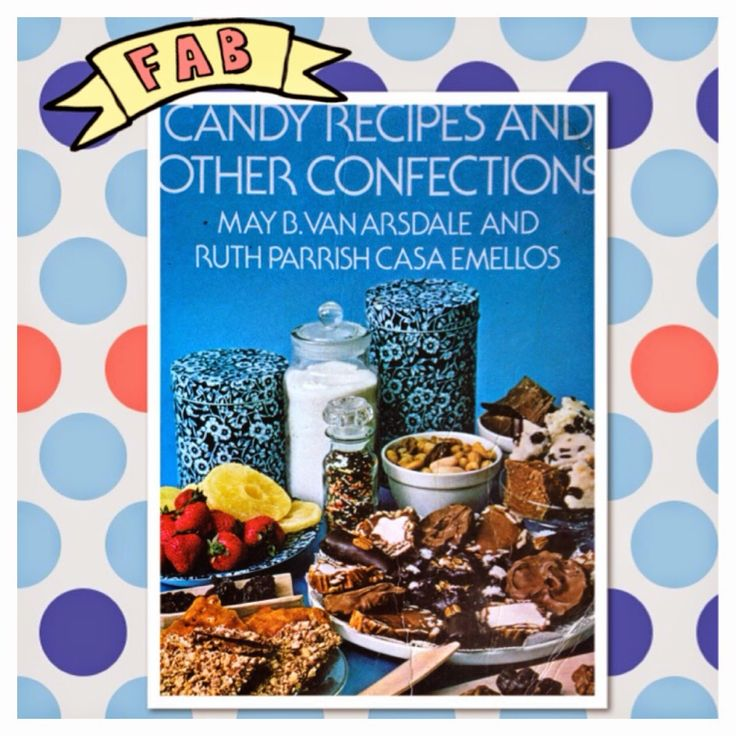 Vintage Recipe Book - Candy Recipes and other confections